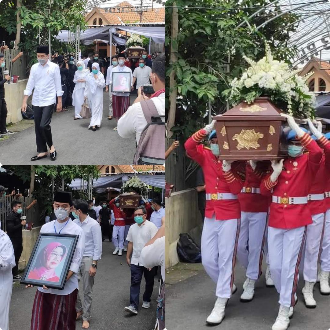 Ibunda Jokowi Dimakamkan
