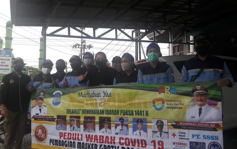 Lima Hari Kegiatan Karang Taruna Kecamatan Gabek, Putuskan Mata Rantai Penyebaran Covid-19