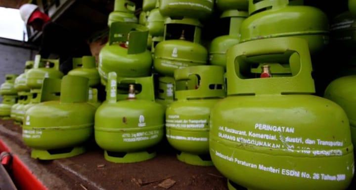 Harga Gas Elpiji 3 Kilogram di Kota Pangkalpinang Meroket