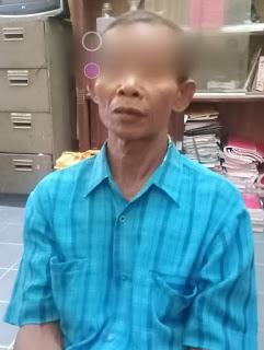 Polsek Rambah Tangkap Lelaki 54 Tahun Ini, Diduga Cabul Anak SD Kelas Dua