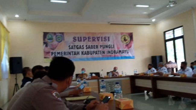 Supervisi Satgas Saber Pungli Jabar Terhadap Saber Pungli Indramayu