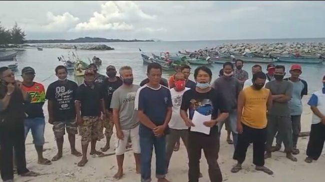 Pernyataan Sikap Masyarakat Nelayan Kampung Matras: Menolak Beroperasinya KIP di Laut Matras